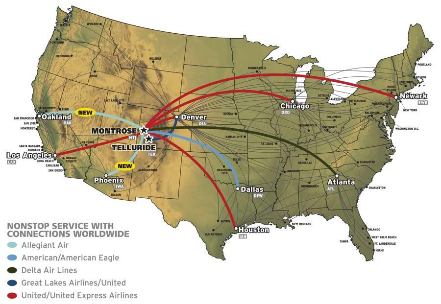 Flights to Colorado