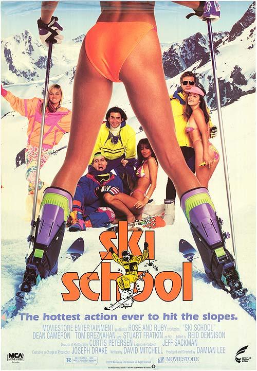 Ski School VHS box