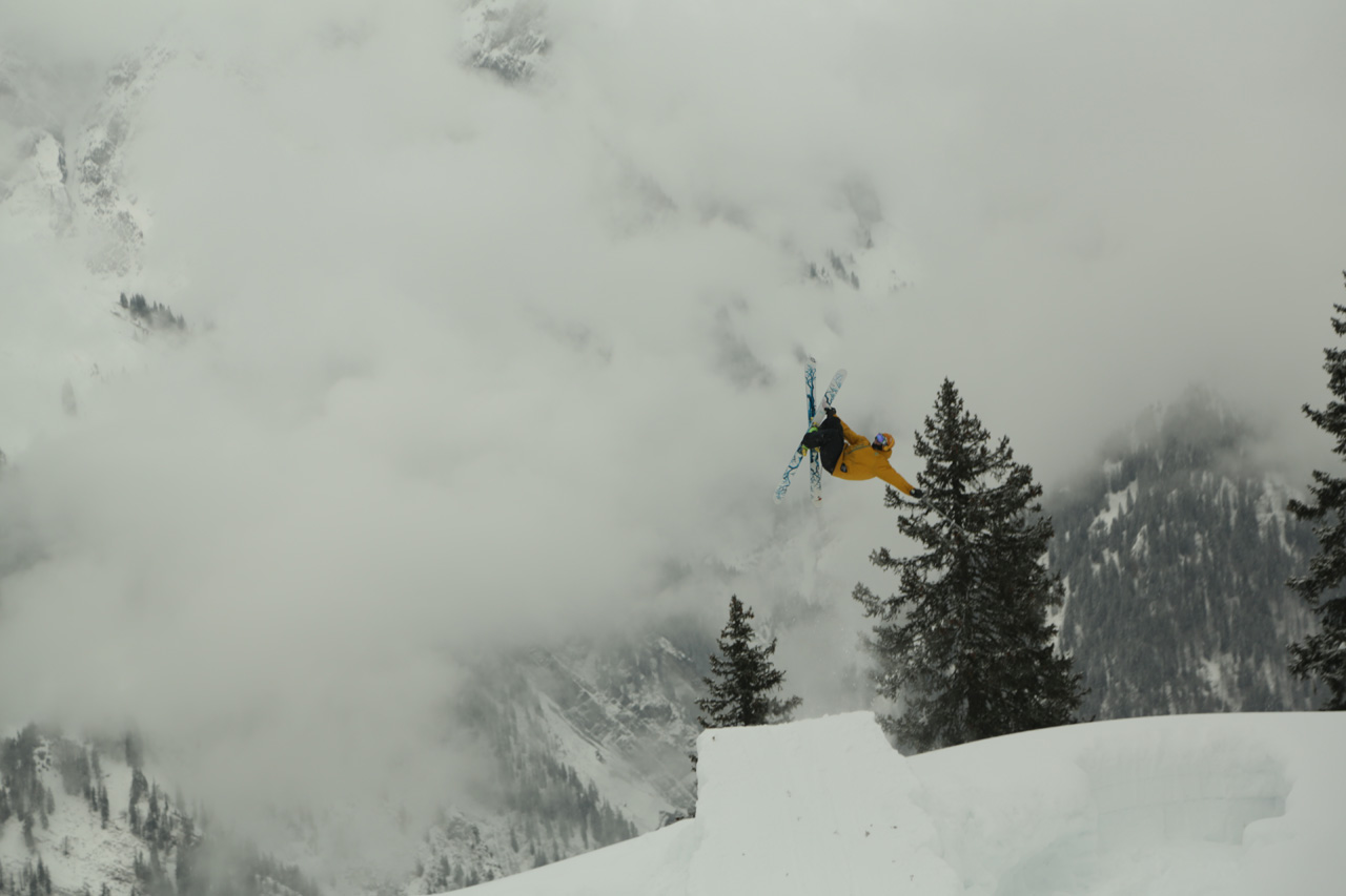 Colter Hinchliffe hits a booter in austria