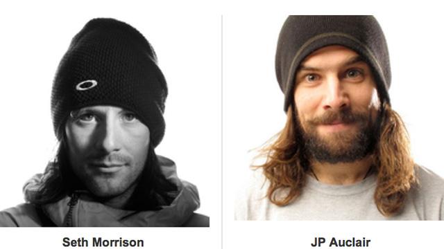 Seth Morrison and JP Auclair
