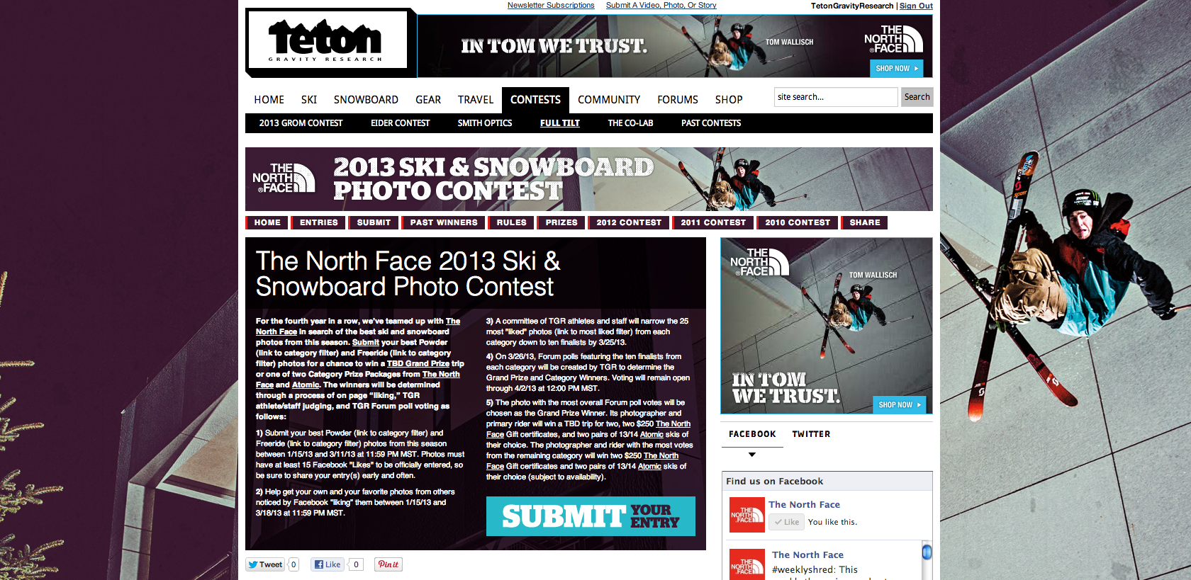 The North Face contest