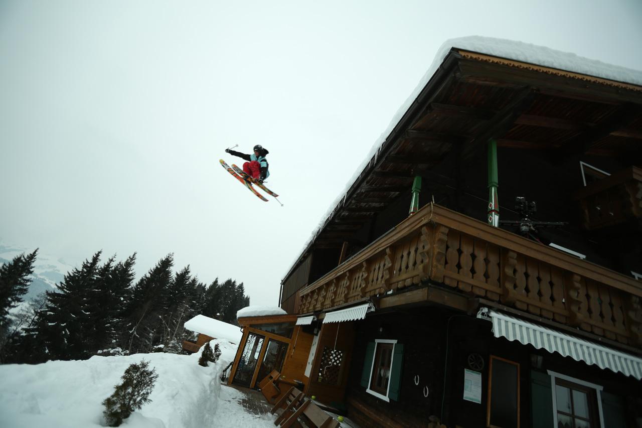 Schussing Chalets in austria with Tim Durtschi