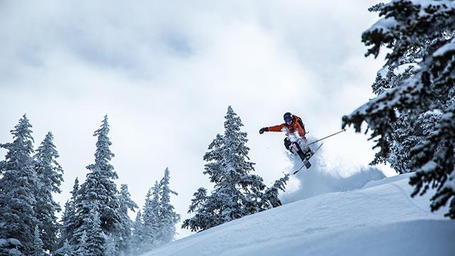 Selkirk Wilderness Skiing Tristan Olson