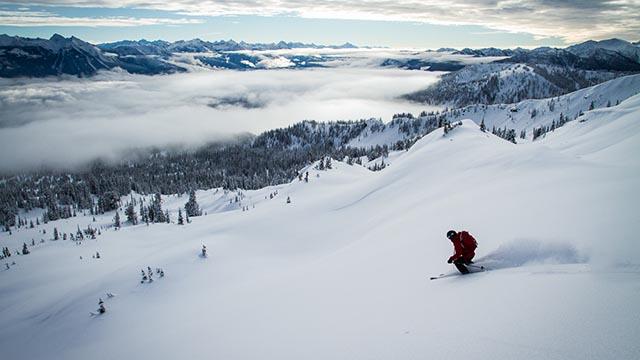 Selkirk Wilderness Skiing
