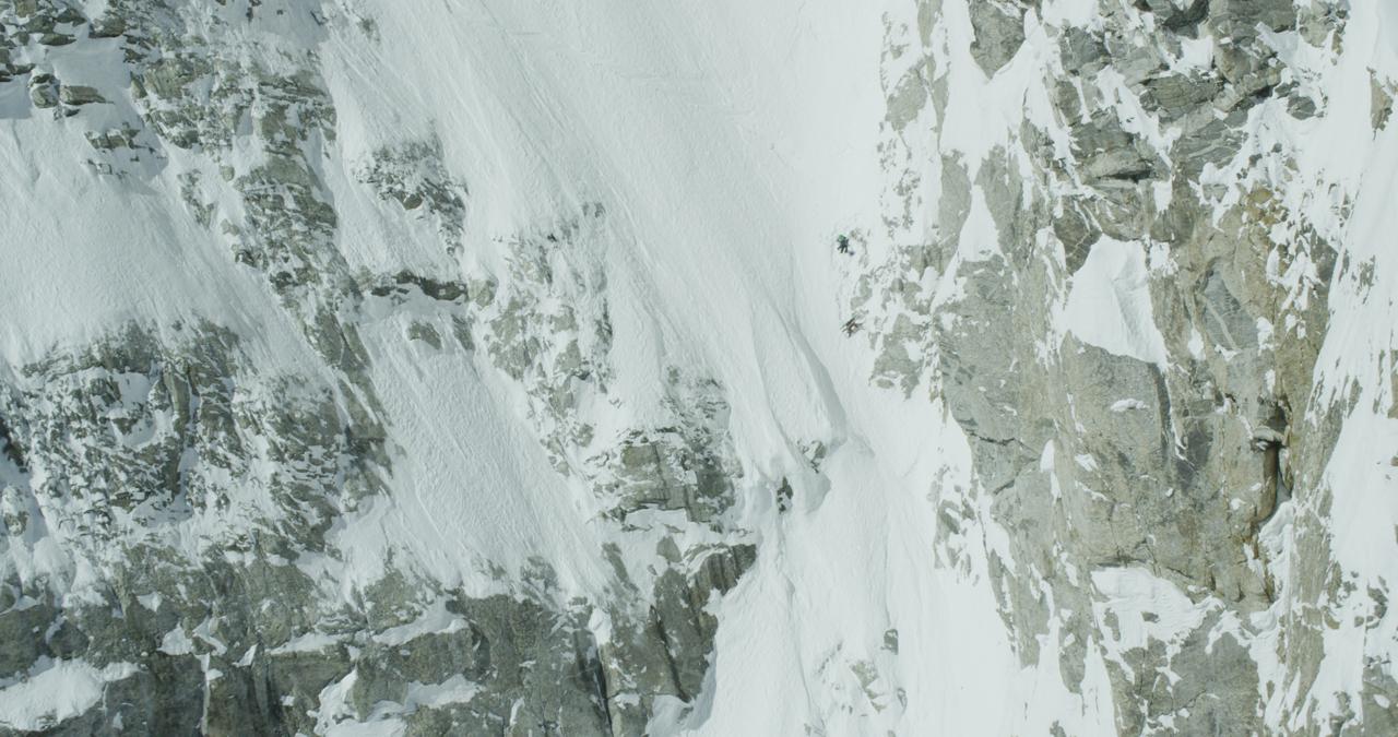 Jeremy Jones riding the Grand Teton