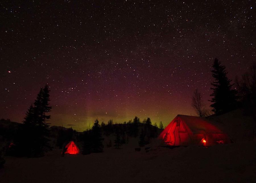 Northern Lights at TGR's Fantasy Camp