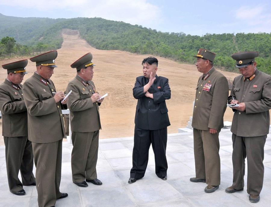 Skiing with Kim Jong Un in North Korea