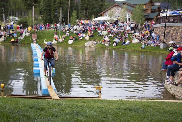 Colorado Freeride Festival Pond Skim