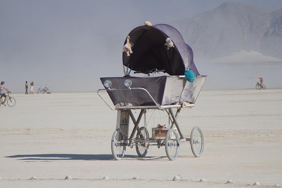 The Bikes of Burning Man