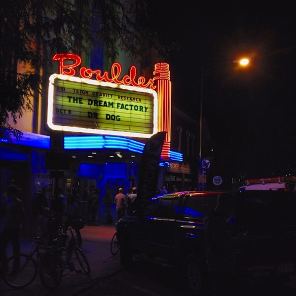 Boulder premiere