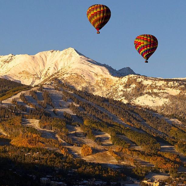 A perfect Aspen day
