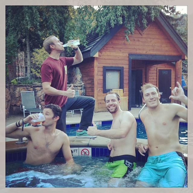 Hot tub meetings are the best meetings.