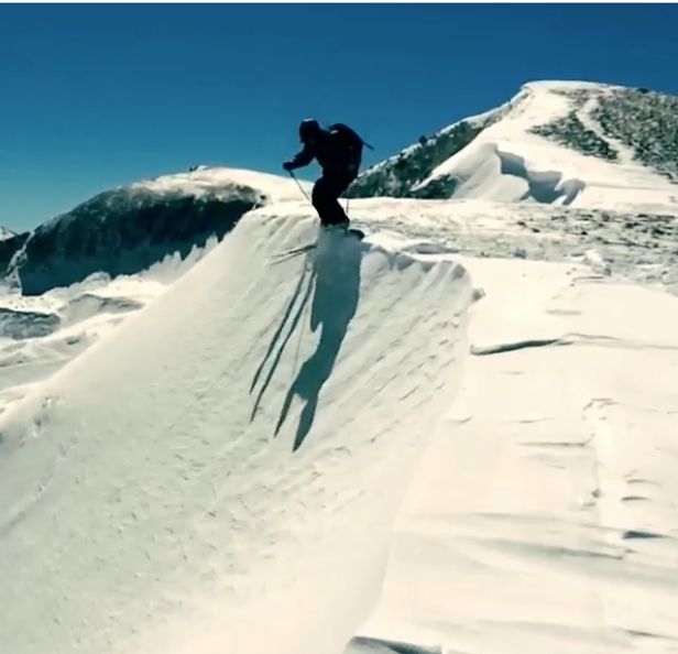 Colter Hinchcliffe dropping in .