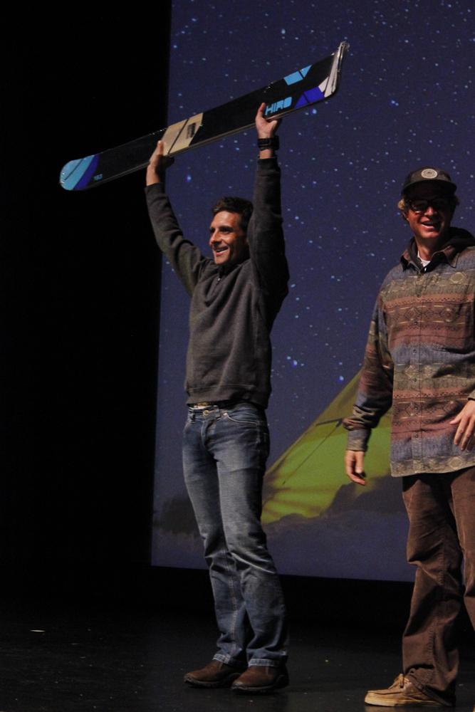 Volkl Winner at TGR Way of Life Premiere in San Francisco