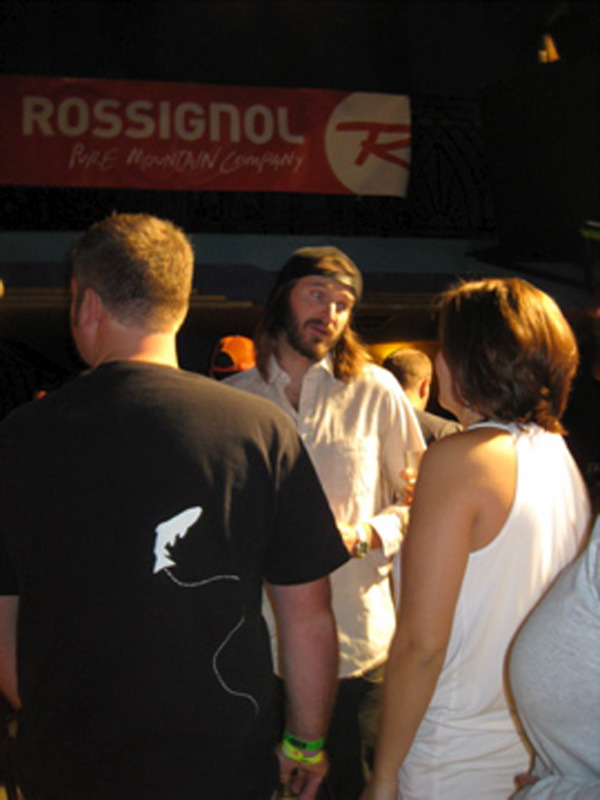 Todd Ligare Mingles With the Crowd