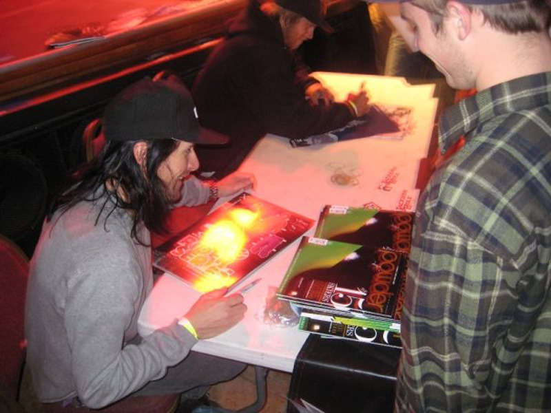Seth Morrison Signs Posters