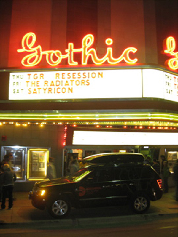 Marquee at the Gothic