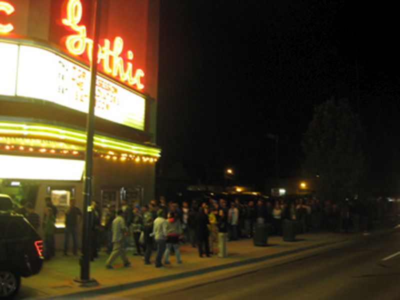 Line Outside the Gothic