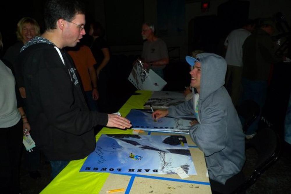 Dash Longe Signing Posters