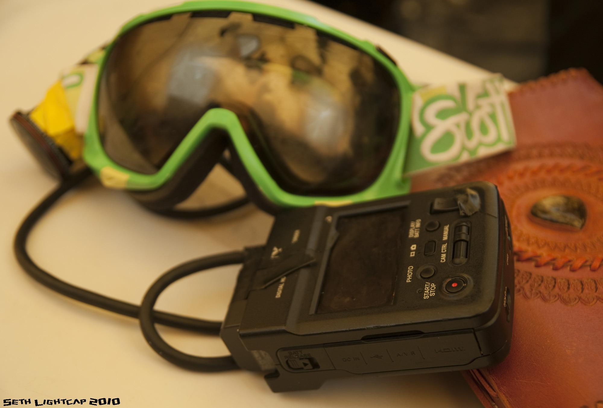 Jones' Helmet cam and Journal