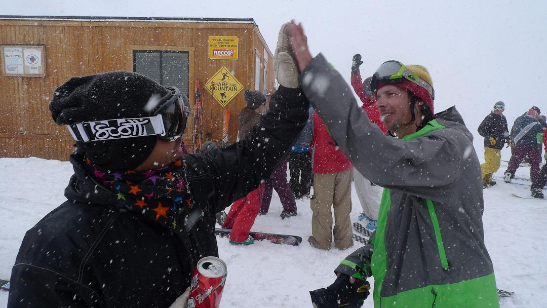 Wrobleski and Pierre celebrate another epic season