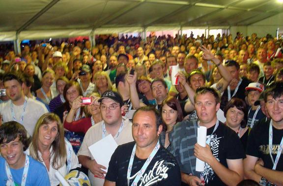 500 wild VIP Ticket Holders at the Nitro Circus