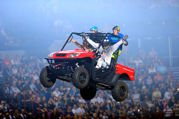 Jumping the Kymco