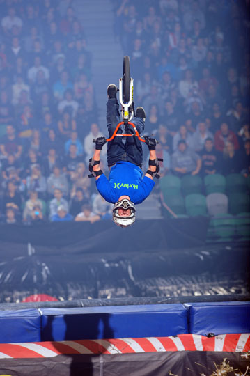 Nitro Circus BMX Backflips