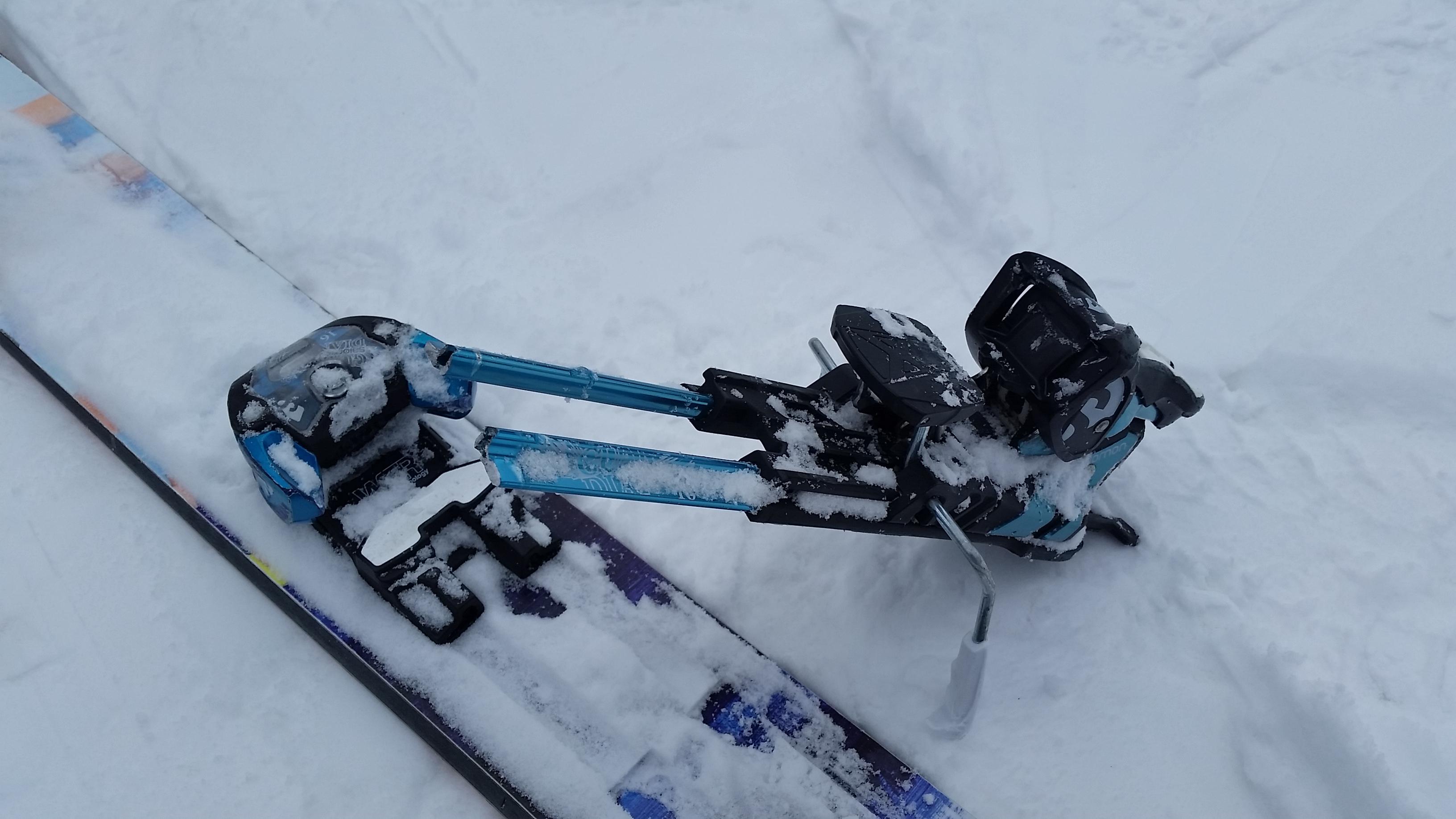 Atomic Tracker 13 MNC Small Ski Bindings
