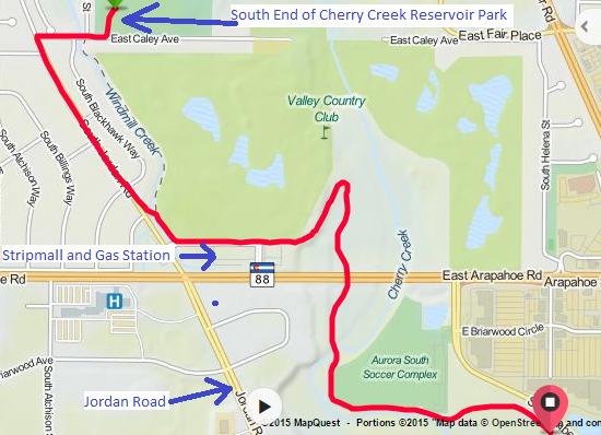 Cherry Creek Trail New Underpass