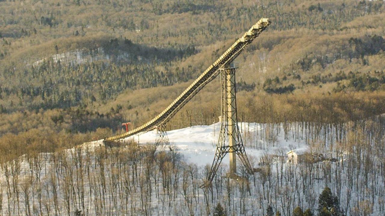 Skier Spins off 24-story Ski Jump…Backwards | Teton Gravity Research
