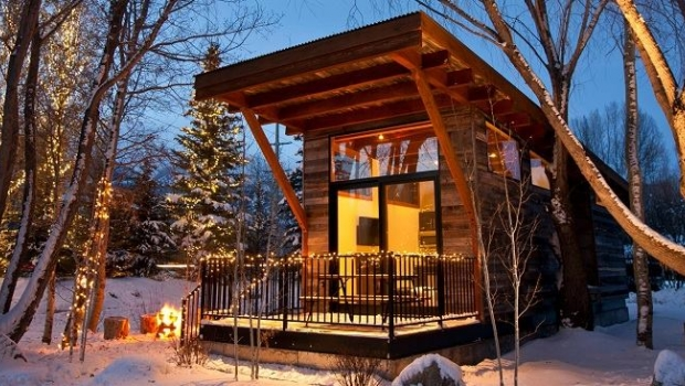 Built in the mountains eco friendly tiny homes that got - House in the mountains ...
