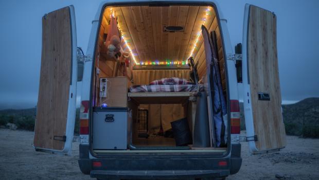 How To: Hack your Van Into The Ultimate Camper Van | Teton