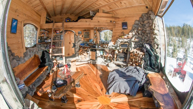 e6ddf7a3464 The Incredible Tiny Cottage of Snowboarder Mike Basich