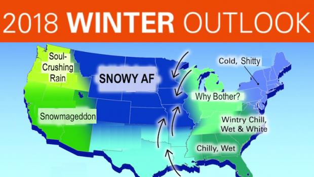 Winter 2020 Forecast Farmers Almanac
