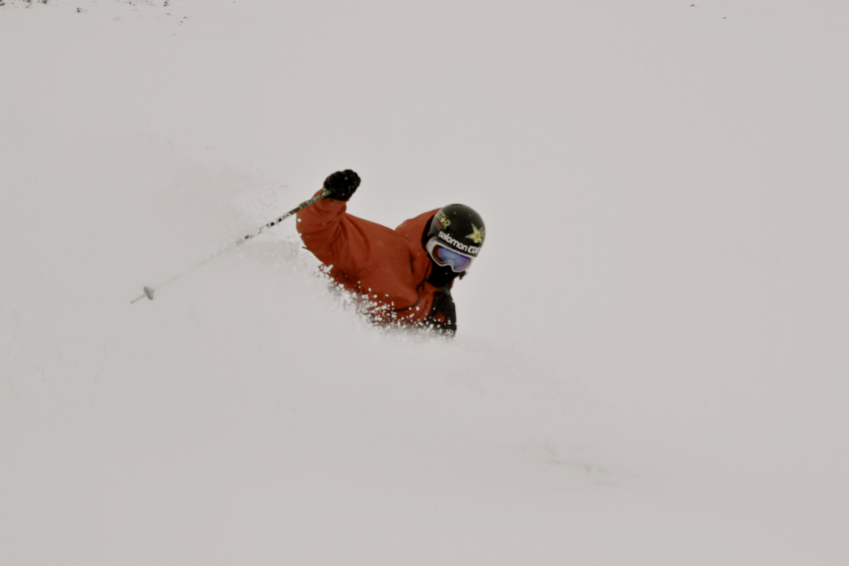 Nick Martini shredding deep Iceland powder