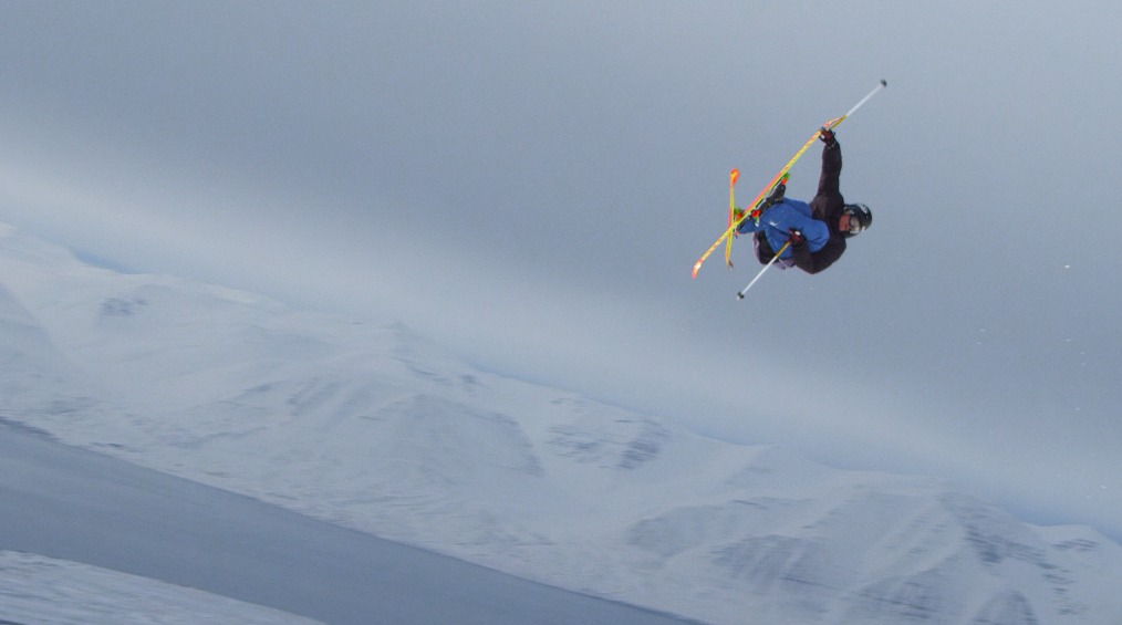 Andreas Hatveit far from the X Games in Iceland