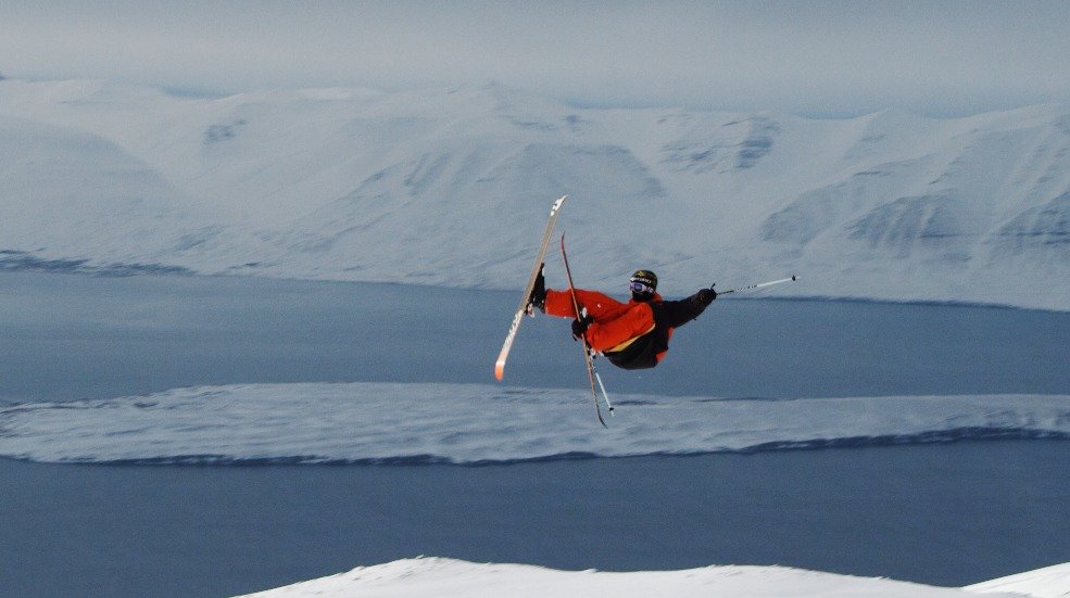 Nick Martini sending it over the Iceland Ocean