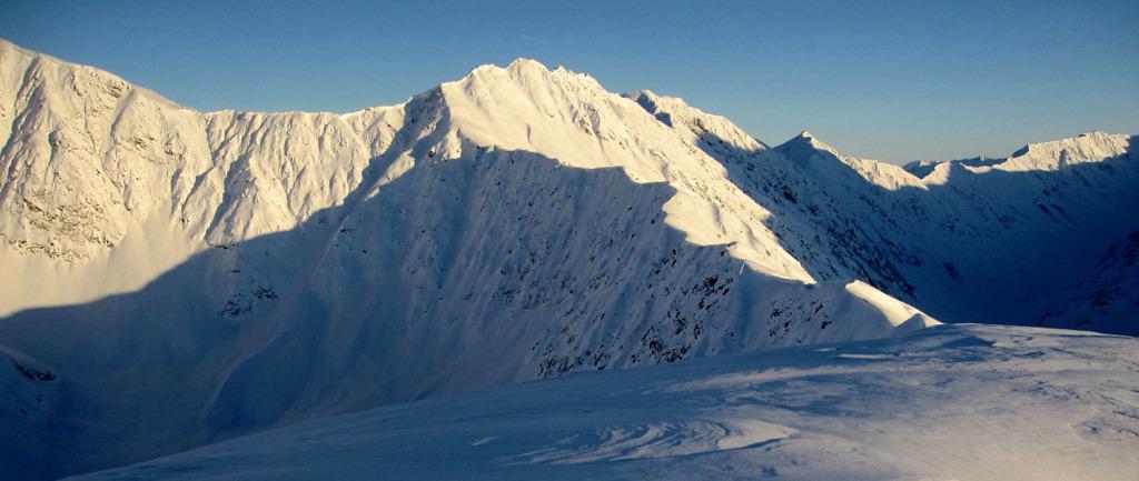 Manitoba Mountain Top Of Headwall