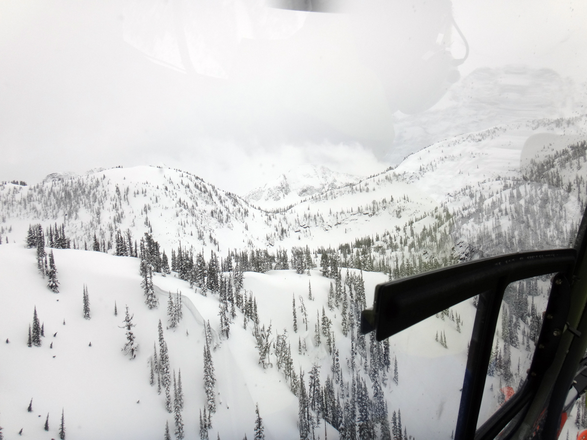 Eagle Pass Heli Skiing