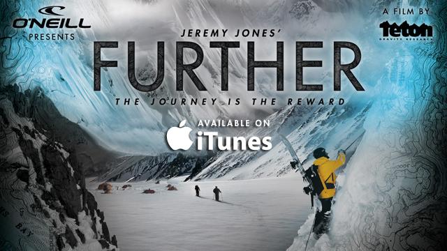 Jeremy Jones' Further on Itunes