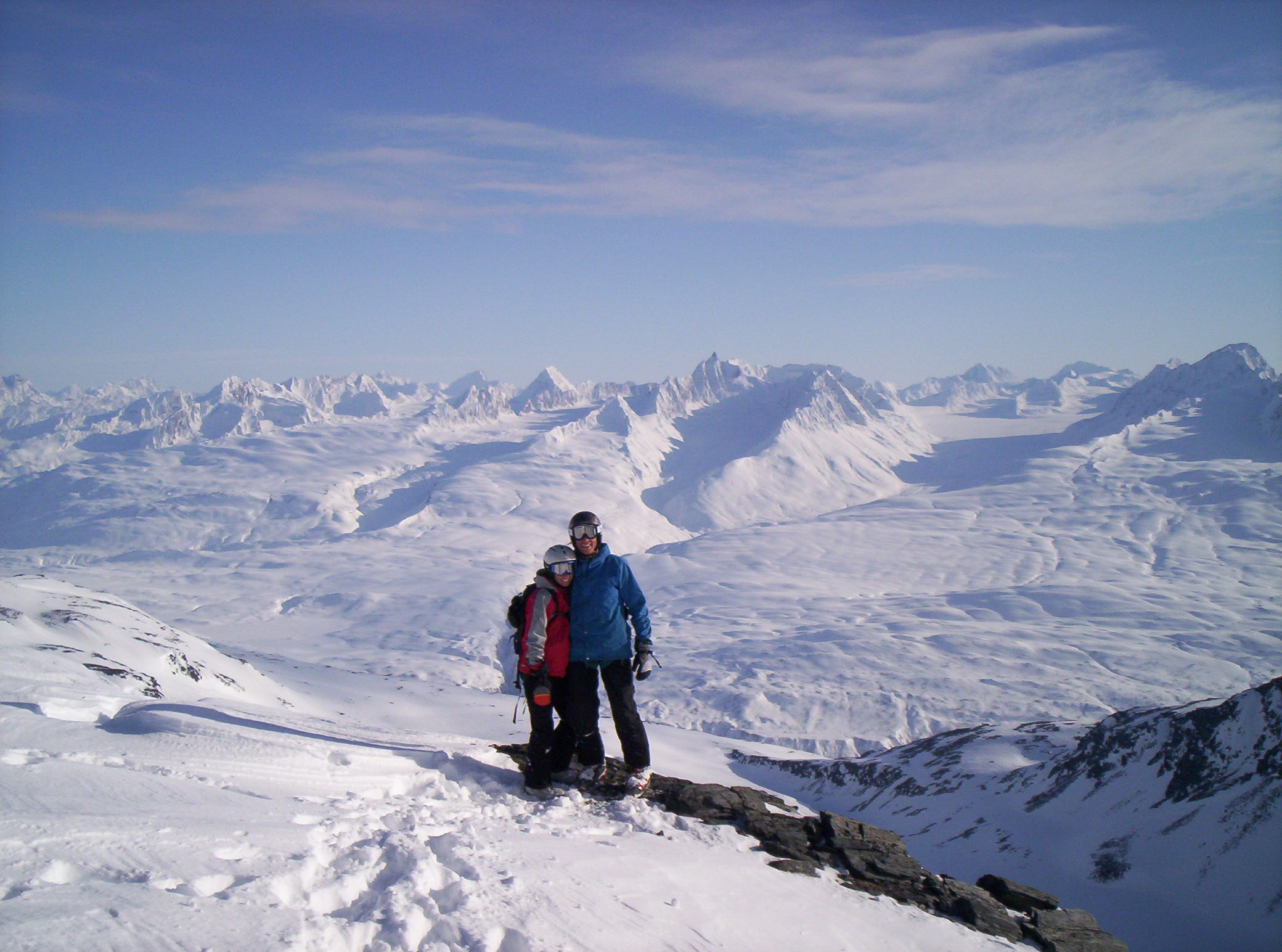 First Heli Ride in Alaska
