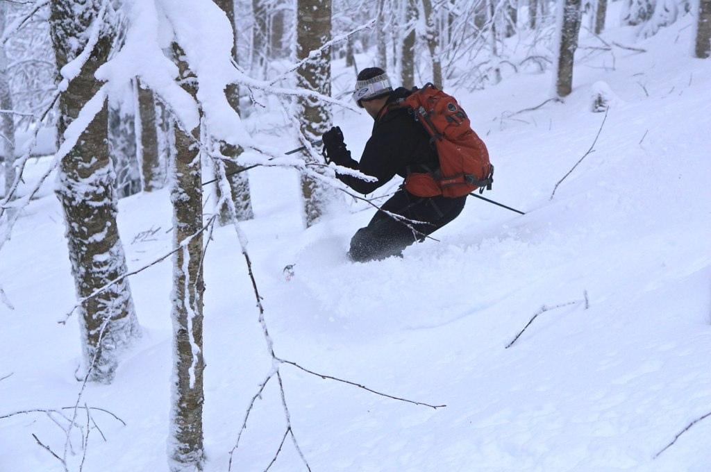 Skiing Hurricane Sandy
