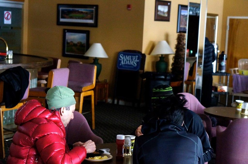 Skiing Hurricane Sandy in West Virginia