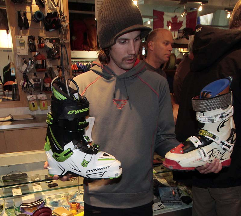 Eric Hjorleifson And His Dynafit Boots