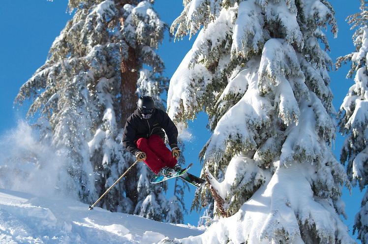 Skiing Mount Rose December 2012