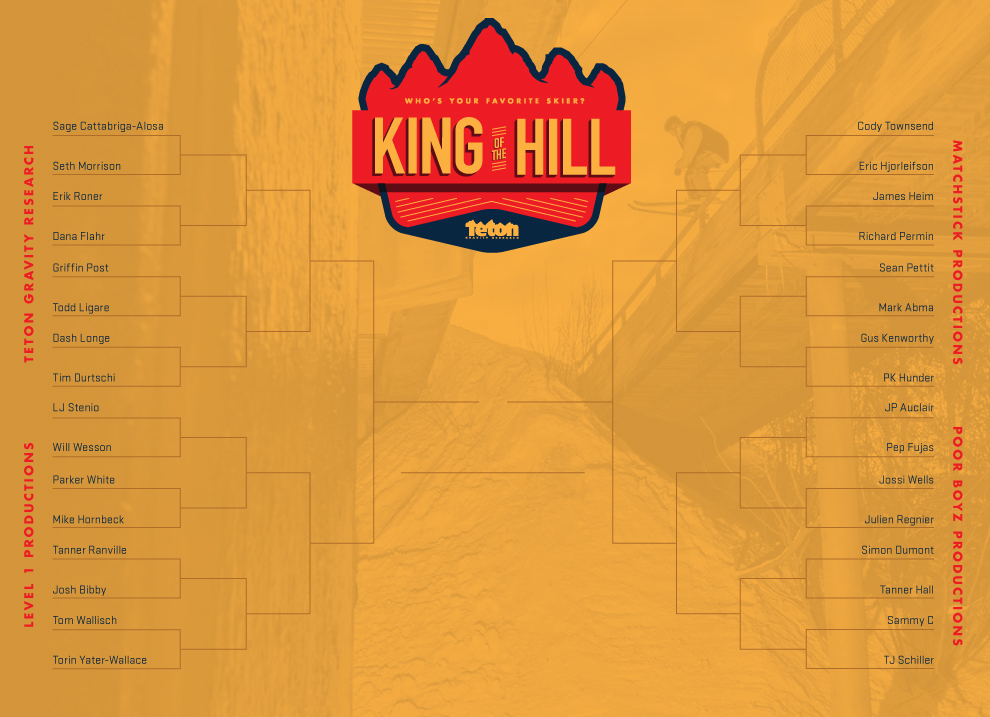 King Of The Hill Bracket
