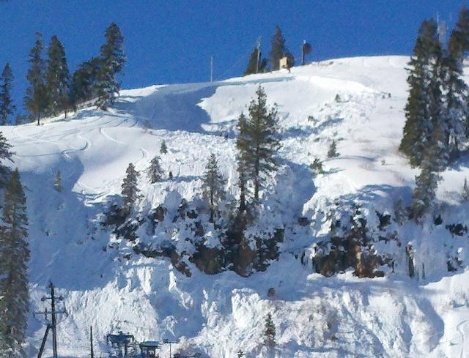 Avalanche at Donner Ski Ranch