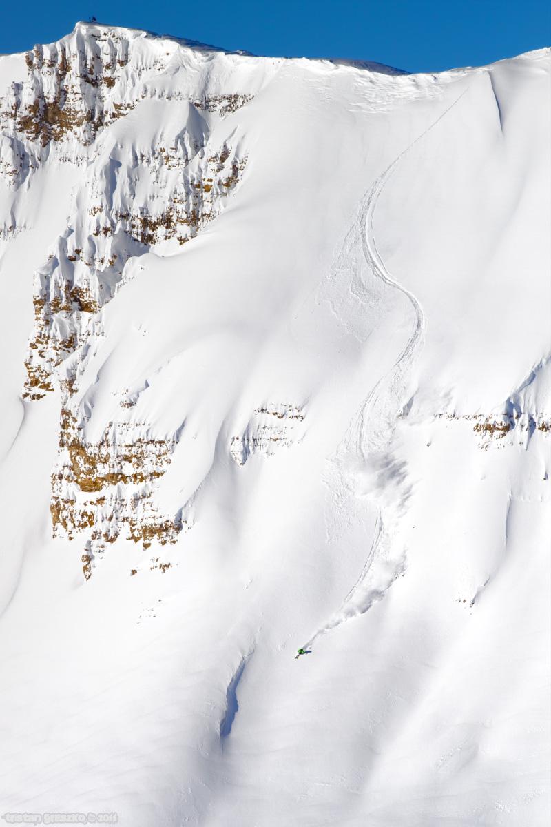 Cody Peak in Jackson Hole by Tristan Greszko