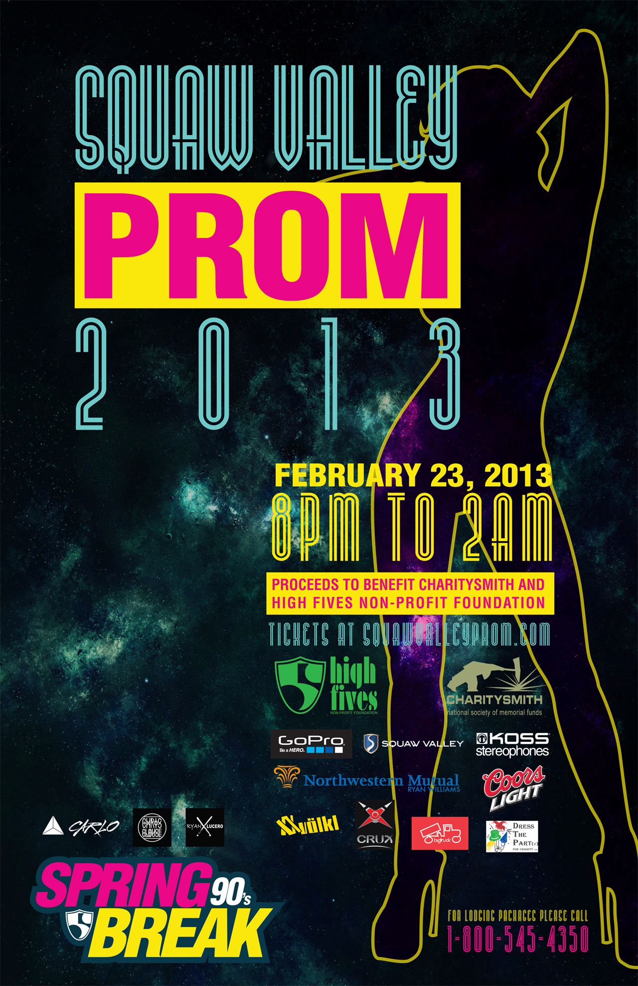 Squaw Valley Prom Flier
